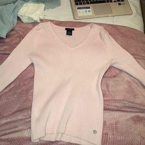 Light pink Calvin Klein long sleeve